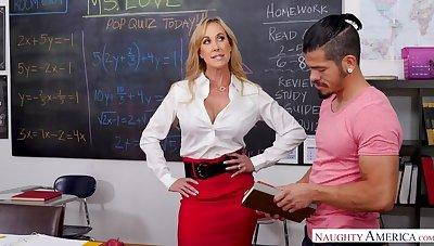 Teacher Brandi Love naturally cares...if you have a big Hawkshaw