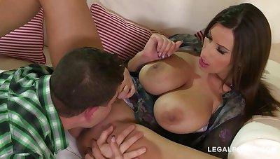 Fucking for forgiveness gives busty bombshell Sensual Jane endless climaxes GP889