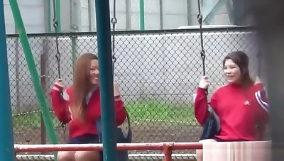 Naughty Asians pissing unserviceable