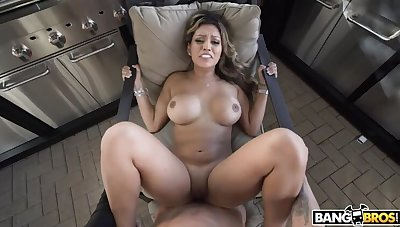 Nicole Brace Gets Her Latin Pussy Creamed