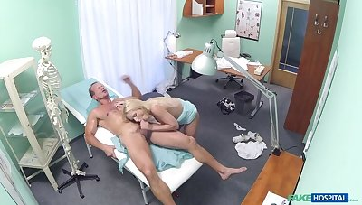 Blonde with unerring tits gets a full interpretation
