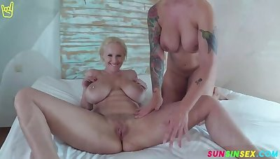 Massive Pairs of Titties' improve a Threesome Vacay