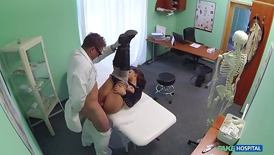 Doctor Turns Busty Patient's Moans Be worthwhile for Soreness Into Moans Be worthwhile for Pleasure