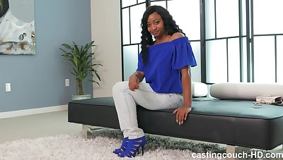 Full-grown black lady India take big saggy confidential fucked on the bounds