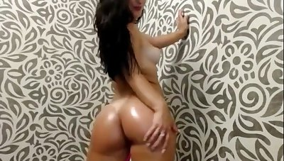 tattooed latina having game stripping for you more than webcam