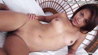 Thai hooker Laiza got creampied stub hard fuck