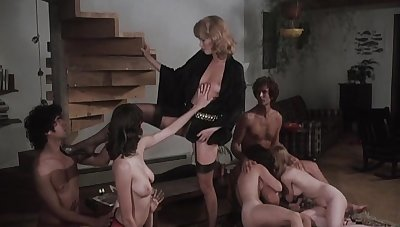 Hot retro adult movie with magnificent girls