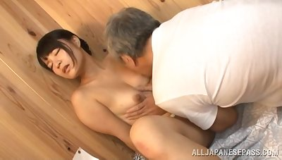 Seductive Japanese loves a good foreplay up ahead a good have a passion